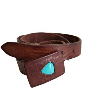 Free People Teardrop Stone Belt